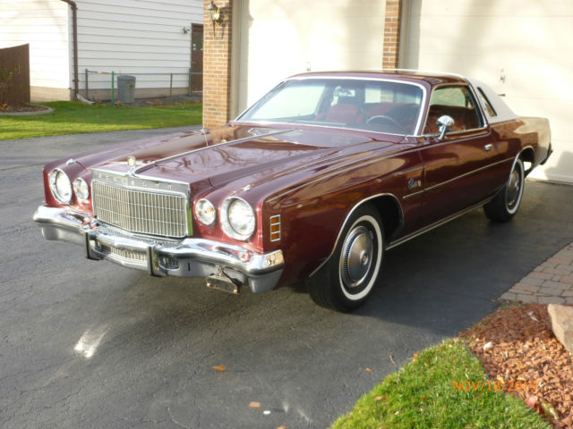 1975 chrysler cordoba 1 owner 26000 miles amazing dodge charger plymouth for sale in. Black Bedroom Furniture Sets. Home Design Ideas