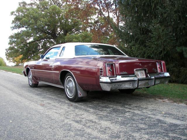 1975 Chrysler Cordoba Coupe 37 500 Original Miles