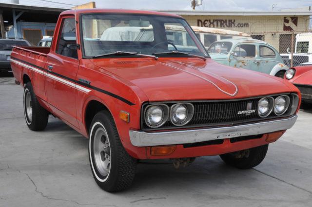 1975 Datsun 620 Short bed Pickup 72,000 Original Miles One ...