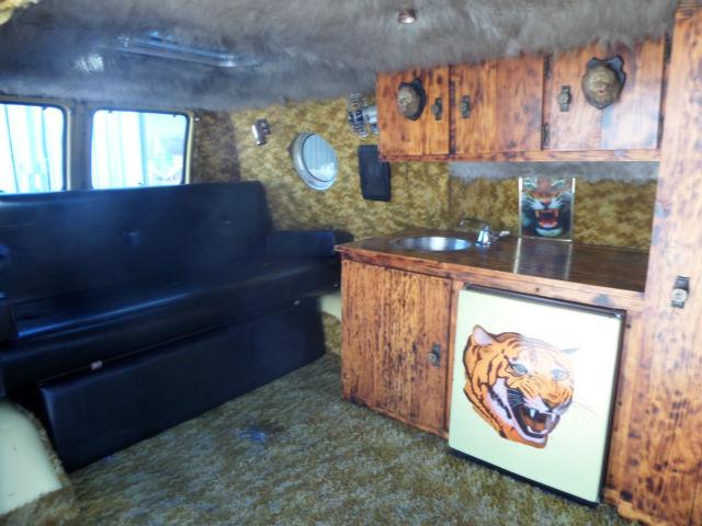 1975 dodge tradesman 100 van custom hippy shaggin wagon ...