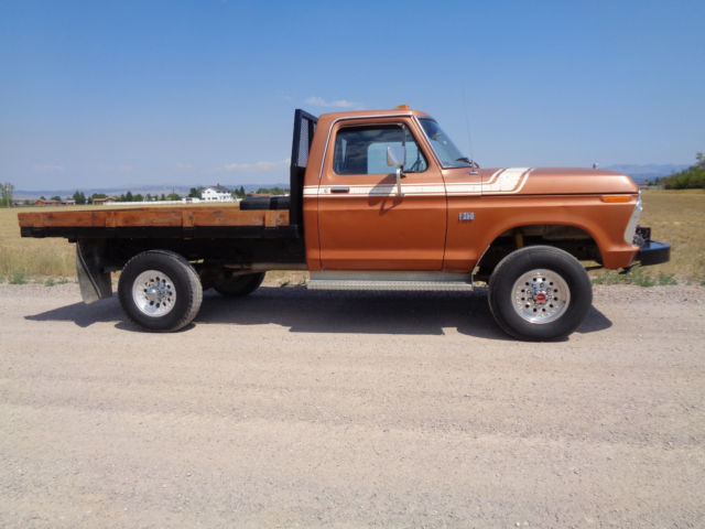 Most Reliable Truck Ever >> 1975 Ford F250 F-250 4x4 highboy high desert survivor ...