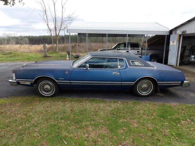 1975 Ford Thunderbird Base Hardtop 2 Door 75l For Sale Photos