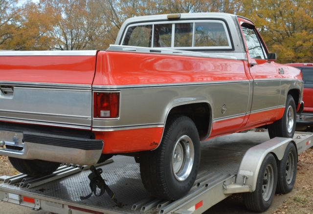 1975 Gmc Sierra Classic 1 2 Ton Fleetside Pickup Truck