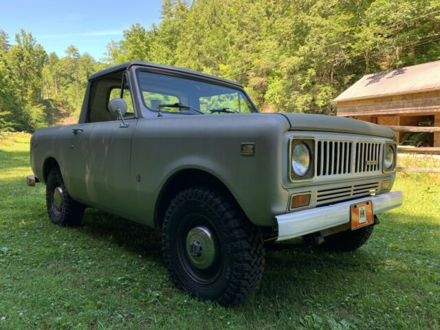 1975 International Harvester Scout Ii 4x4 Pickup Truck Rare Original For Sale Photos Technical Specifications Description