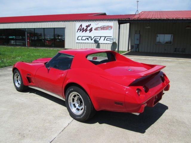 Red Corvette Coupe Auto Great Driver