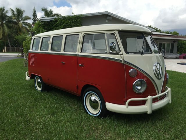 1975 vw bus kombi for sale in miami florida united states. Black Bedroom Furniture Sets. Home Design Ideas