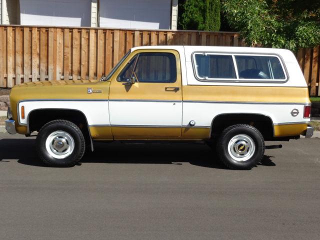 Chevy K5 Blazer For Sale >> 1976 Chevrolet Blazer K5 4x4 1977 1978 1970 1969 1979 1980 1981 1987 1982 1983 for sale in ...