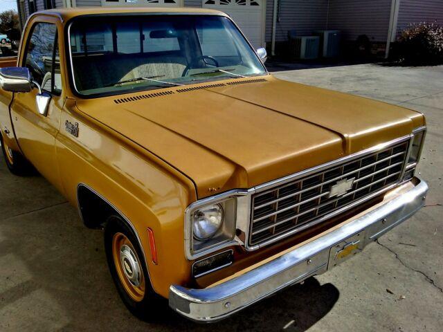 Chevrolet Of Boaz >> 1976 Chevrolet C10 SWB Rare Original Condition Farm Find 6 ...