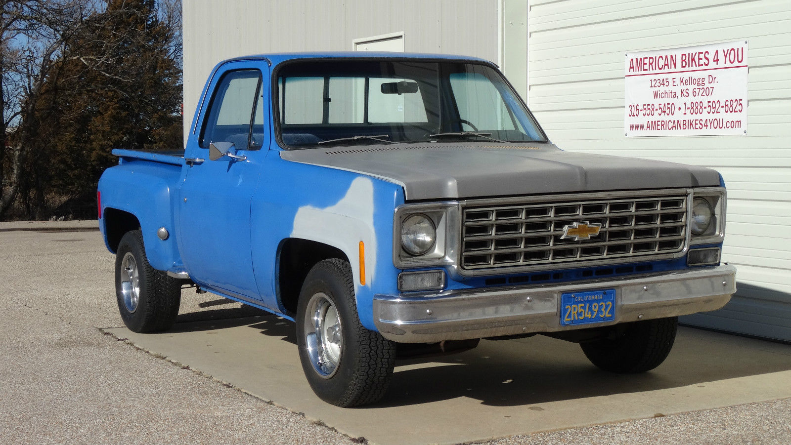 1976 chevrolet chevy c10 not gmc stepside short bed pickup 1976 chevy stepside