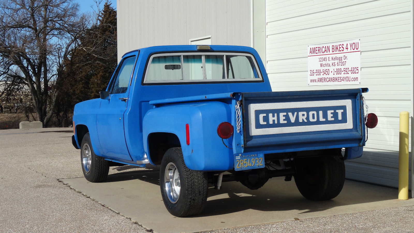 1976 Chevrolet Chevy C10 Not Gmc Stepside Short Bed Pickup