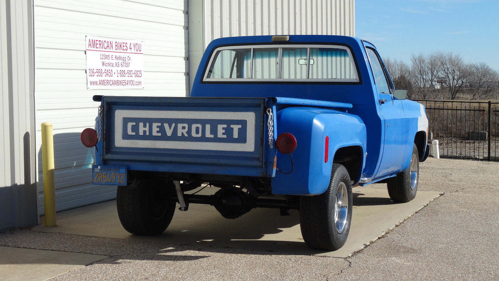 1976 Chevrolet Chevy C10 Not Gmc Stepside Short Bed Pickup For Sale 4x4 3 4 Ton Technical Specifications Of C 10