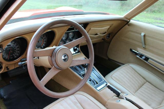 1976 Chevrolet Corvette StingRay L48 Coupe C3 5 7L T-TOP V8