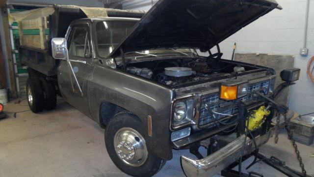 1976 Chevy C-30 1-ton Dually *2wd* Dump Truck Pickup Good ...