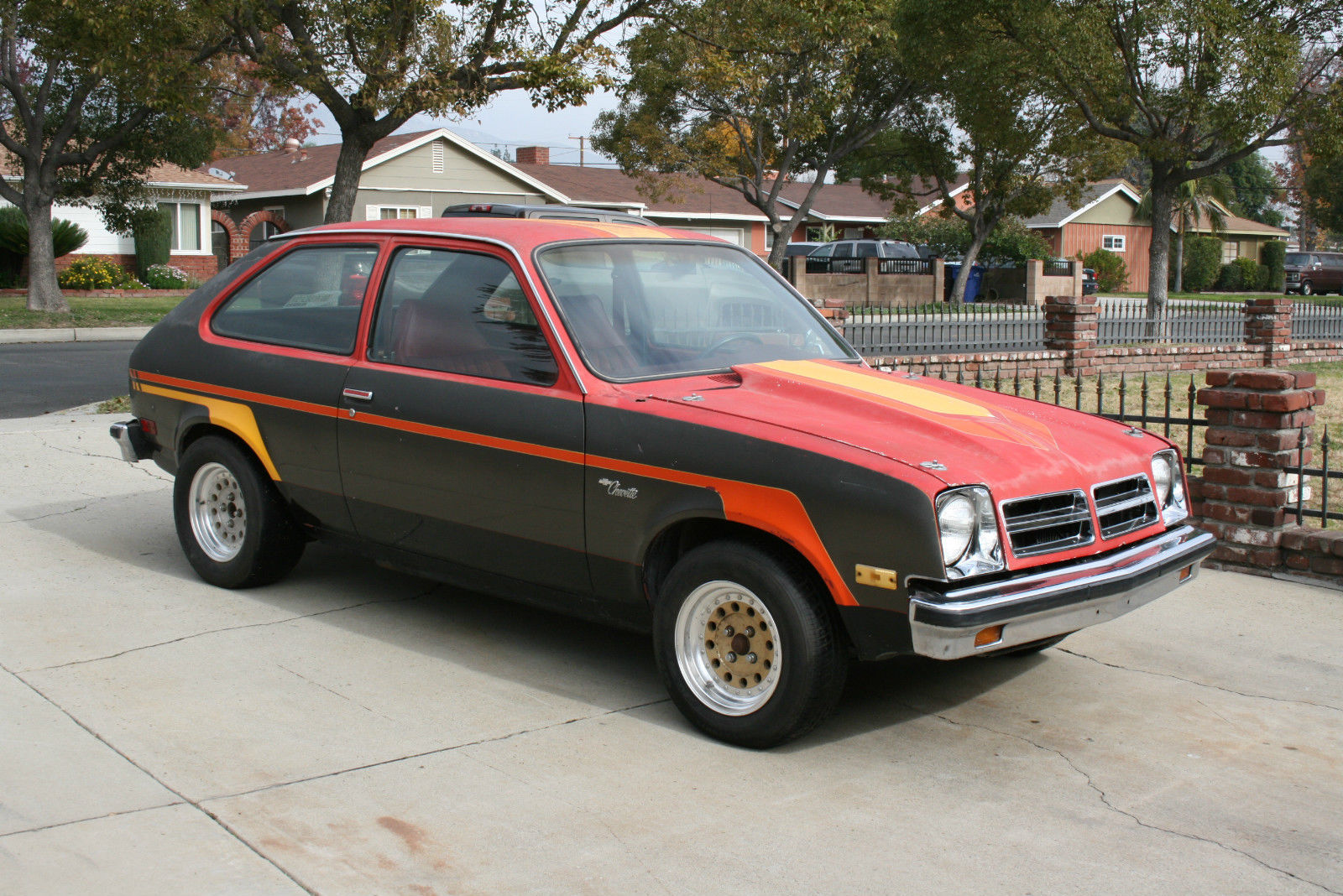 1976 Chevy Chevette Hooker Headers Project Car Hot Rod Magazine Drag Car Gasser For Sale In