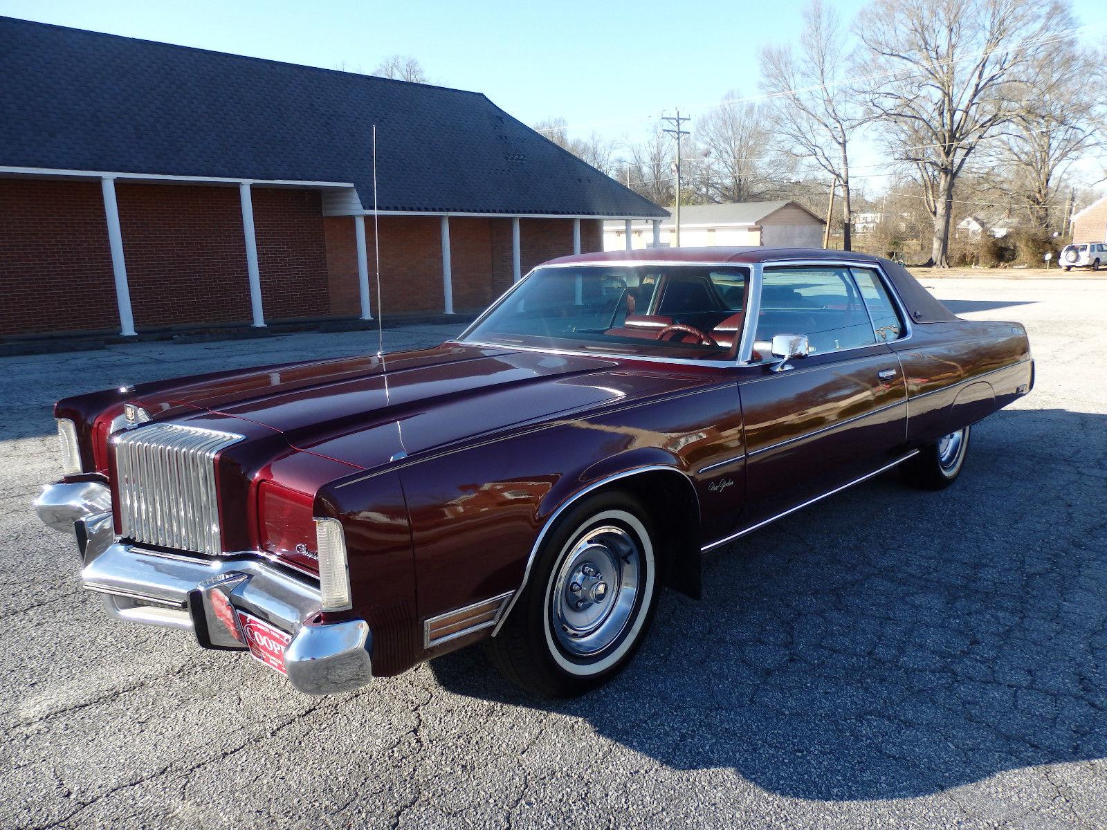 1976 Chrysler Newport 4 Door Hardtop 400 Automatic Custom New Yorker 1954 Deluxe 2 Brougham 66l