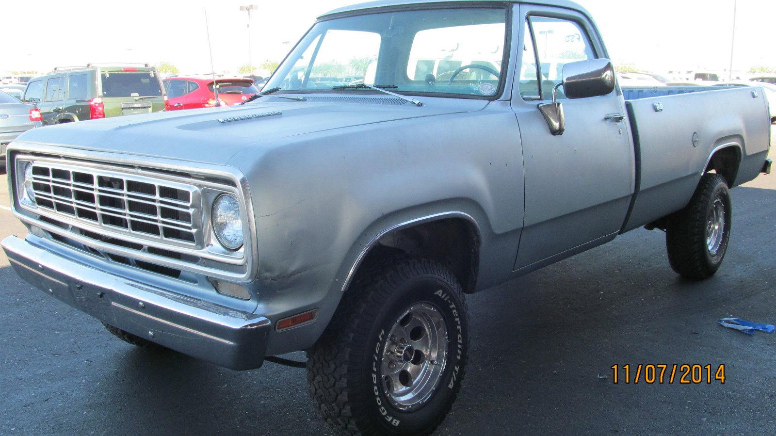 Dodge Ram D Pickup Truck K Actual Miles No Reserve Sunny Arizona