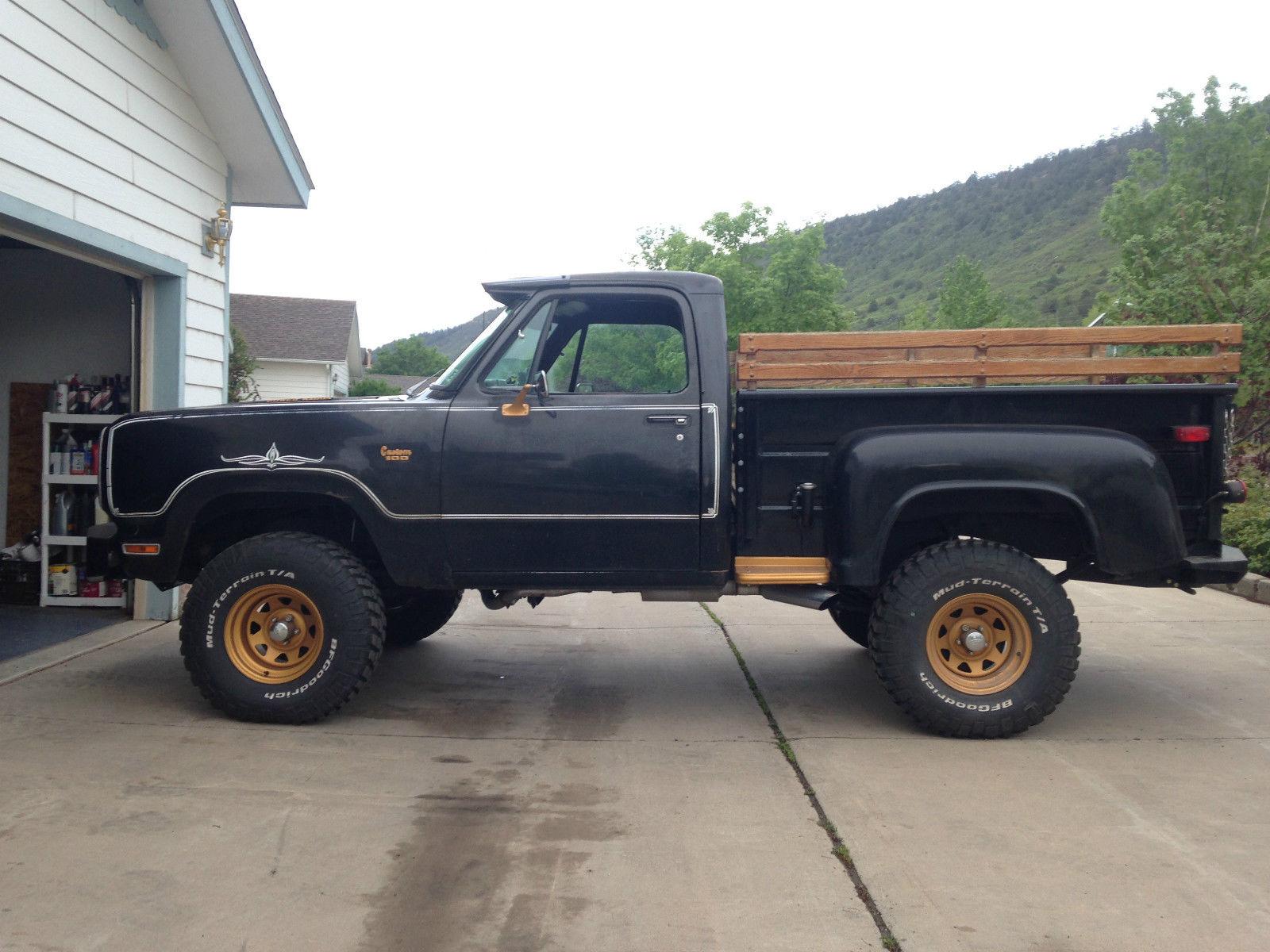 1976 Dodge Warlock For Sale In Bayfield Colorado United