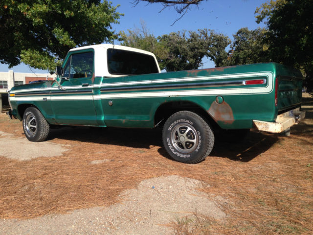 1976 ford f150 pickup truck survivior rat rod for sale in wichita kansas united states. Black Bedroom Furniture Sets. Home Design Ideas