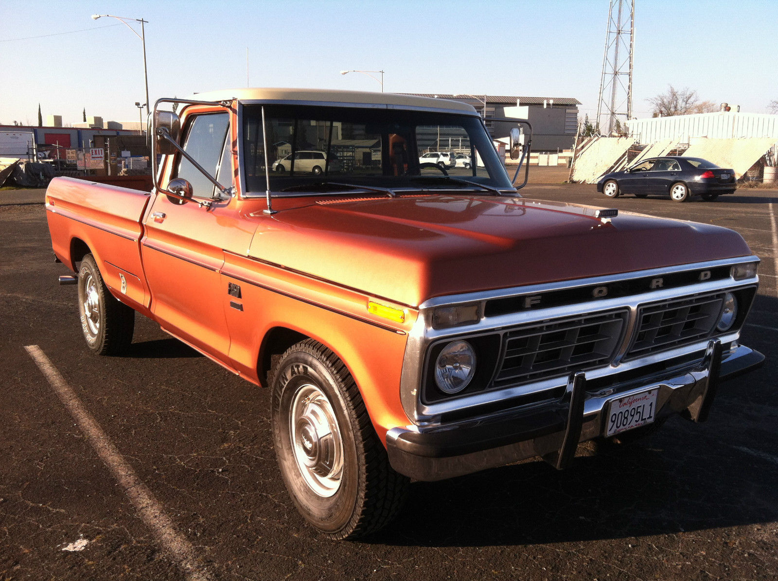 1976 Ford F250   Camper Special  Custom  Vintage For Sale In Georgetown  California  United