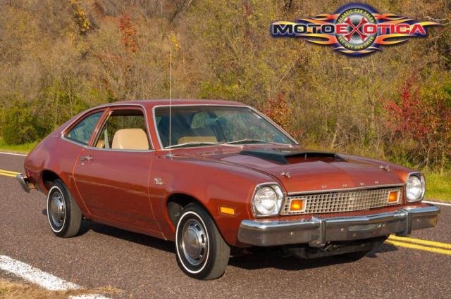Small Hatchback Turbo Cars: 1976 Ford Pinto Pinto Turbo Hatchback