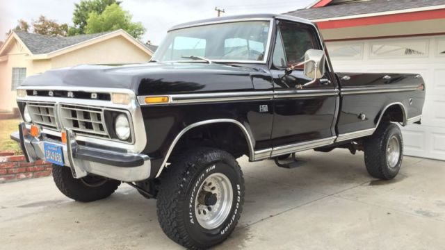 1976 Ford F250 Highboy For Sale >> 1976 FORD RANGER XLT 4X4 CALIFORNIA RUST FREE ORIGINAL for sale in Rowland Heights, California ...