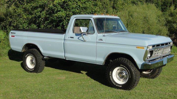 1976 Ford Truck F 250 4x4 Highboy 390 Fe F 100 1977 1978 1979 For