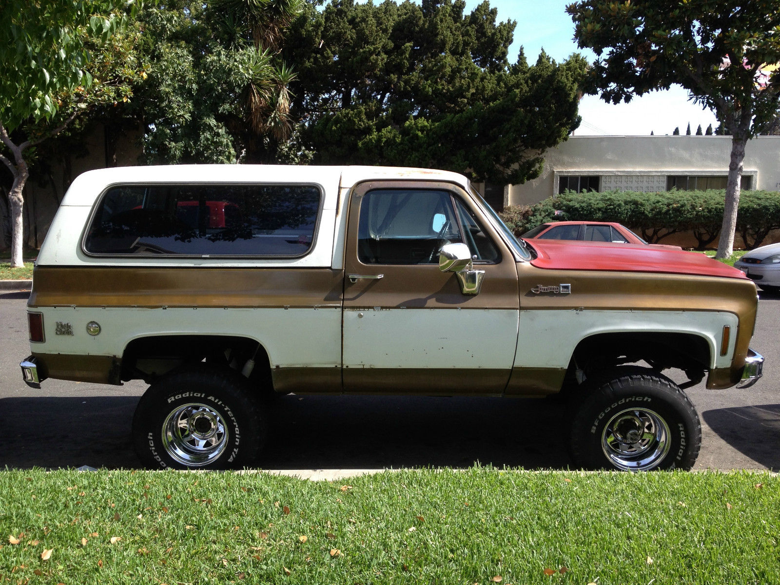 1976 gmc jimmy high sierra sport utility 2 door 5 7l for sale in orange california united states. Black Bedroom Furniture Sets. Home Design Ideas