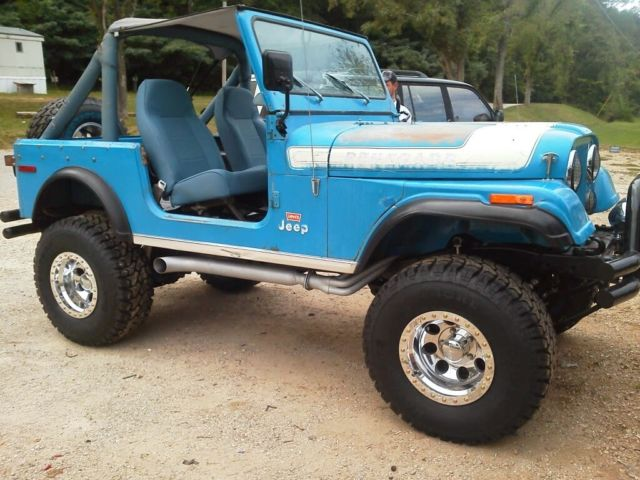 1976 Jeep Cj7 Levi Edition Low Mileage For A 76
