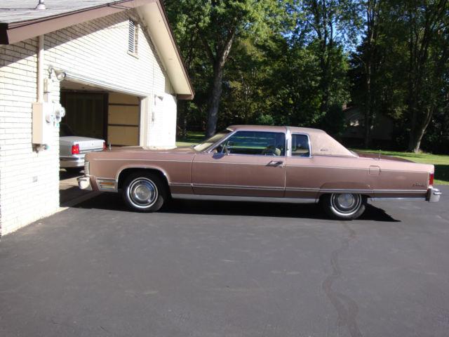1976 Lincoln Continental Town Coupe 2 Door Original Survivor Big