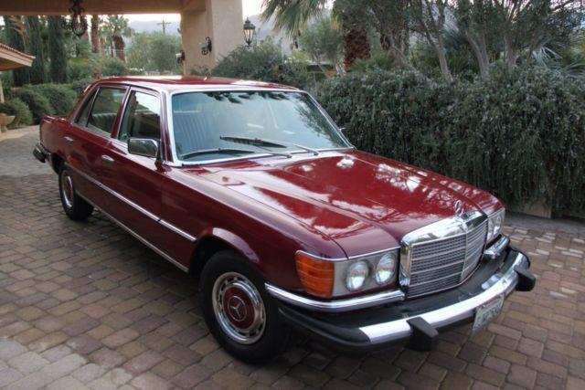 1976 Mercedes Benz 400 Series
