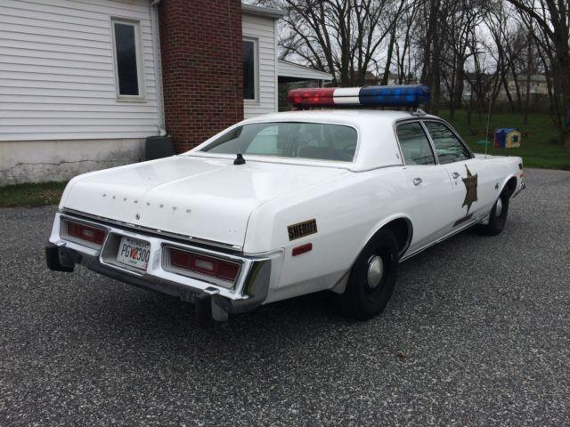 1976 plymouth fury sheriff rosco coltrane dukes of hazzard tribute police car for 1976 plymouth fury salon