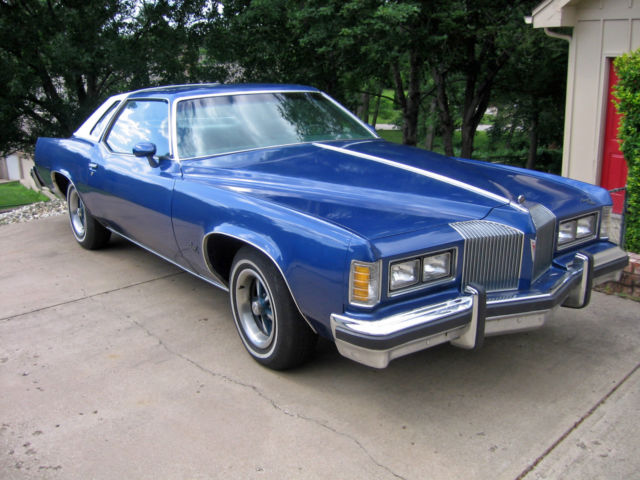 1976 Pontiac Grand Prix With 36k Original Miles 350 V8