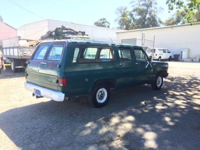 1976 suburban 1500 2wheel drive