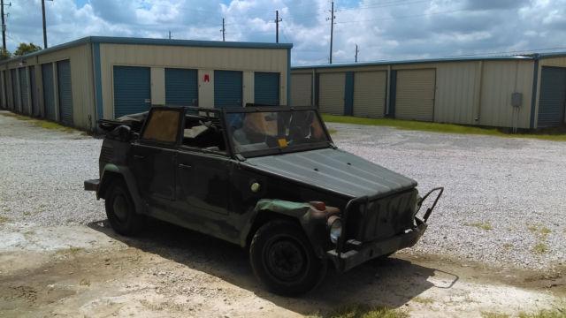 vw kubelwagen  type  german military nato graymarket rare cool