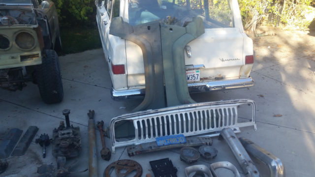 1977 Amc Jeep J10 Godlen Eagle Z Code V8 401 Quadra Trac