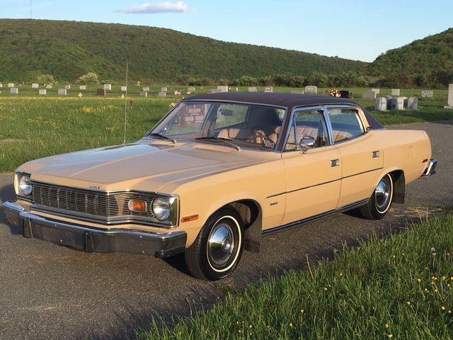 1977 Amc Matador 4 Door Sedan For Sale Photos Technical