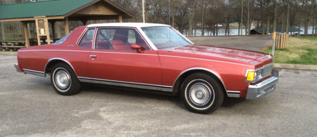 1977 Chevrolet Caprice Classic Coupe 2-Door 5 0L for sale in