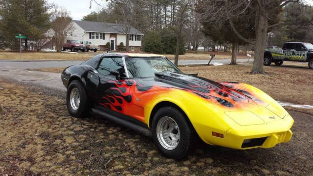 1977 Chevrolet Corvette Custom Hot Rod Flames