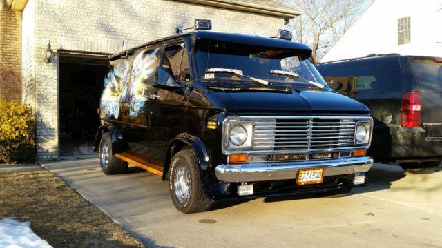 1977 Chevrolet Custom Van G20 Survivor 57k Miles In