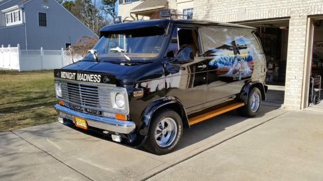 1977 chevrolet custom van g20 survivor 57k miles in amazing condition for sale in bayville new. Black Bedroom Furniture Sets. Home Design Ideas