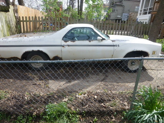 1977 Chevrolet El Camino Ss Project S Match