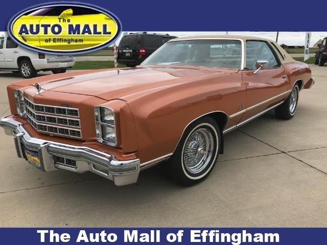 Owner Type Jeep Pick Up Style >> 1977 Chevrolet Monte Carlo 55715 Miles Orange 350 Automatic