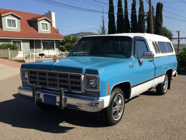 1977 Chevrolet Truck C-10 Custom Deluxe 350-V8 Turbo-400 ...