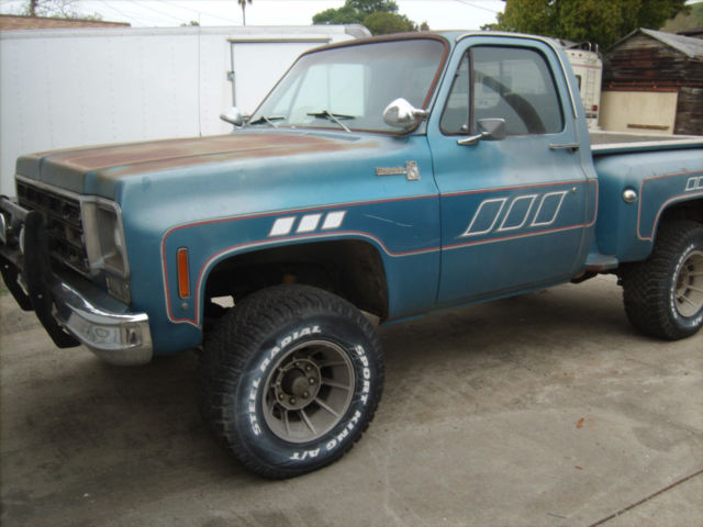 1977 Chevy 4x4 Stepside For Sale In Concord California
