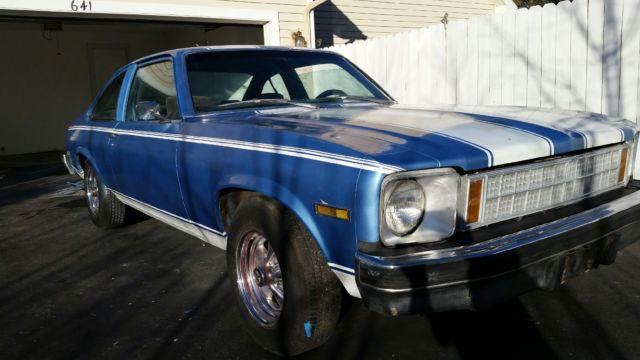 Northern California No Rust: 1977 CHEVY NOVA! NO RESERVE! NO RUST! CALIFORNIA CAR