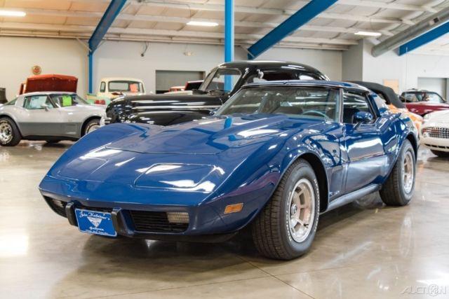 1977 Corvette T Top Automatic Coupe L 48 350ci V8 77 For Photos Technical Specifications Description