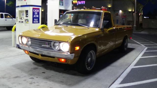 1977 DATSUN 620 PICKUP TRUCK JDM CUSTOM CALI LOOK OG PAINT ...