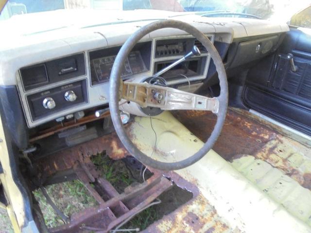 1977 Dodge Aspen Project Car Parts Drag Racer Mopar