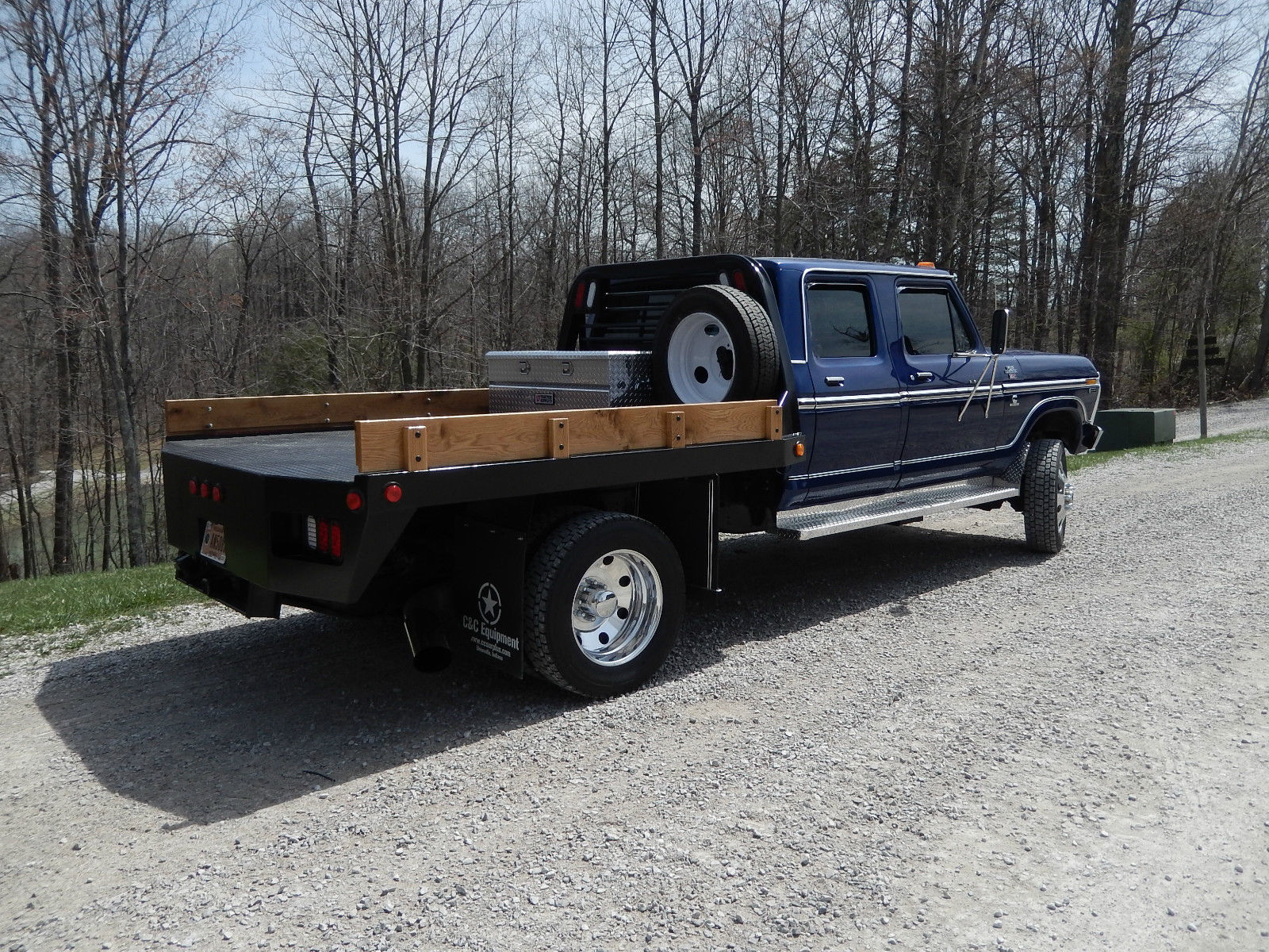 1977 ford f 250 crew cab on dodge 3500 chassis 6 7 cummins f 350 f 450 video for sale in. Black Bedroom Furniture Sets. Home Design Ideas