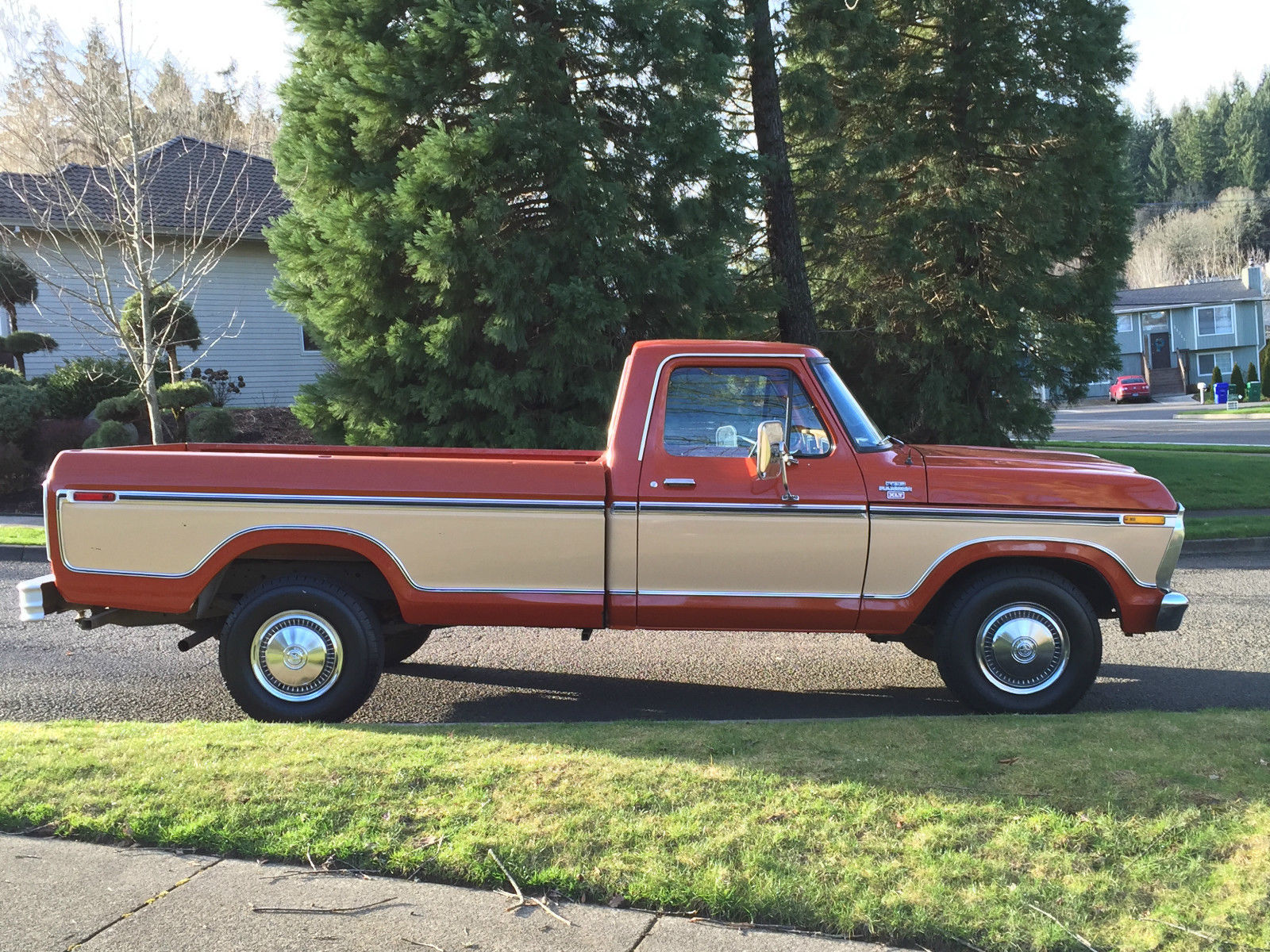 1977 ford f 250 pickup reg cab 2dr long bed only 32k actual miles all original for sale in. Black Bedroom Furniture Sets. Home Design Ideas